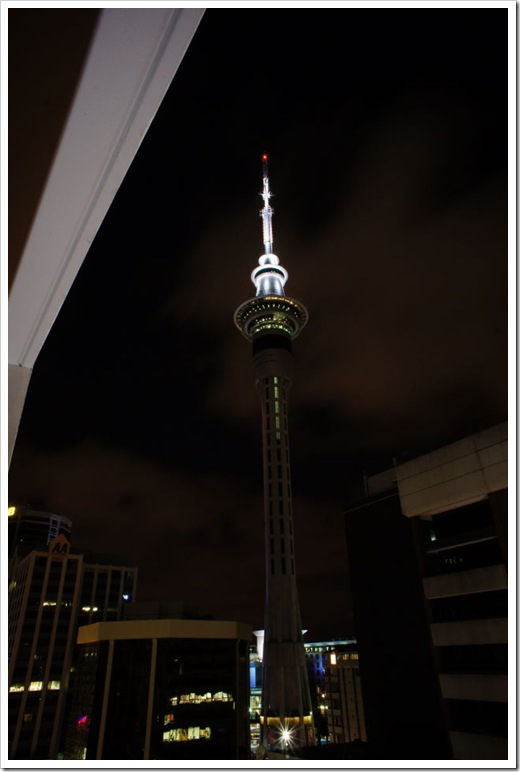 nova zelanda auckland skytower