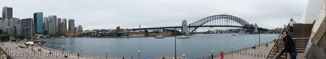 Panoràmica de Circular Quay, amb el Harbour Bridge al fons