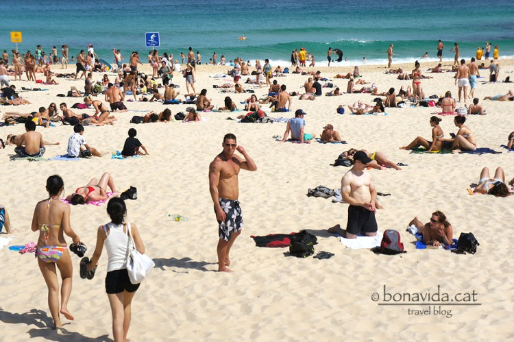 Com la mítica Bondi Beach