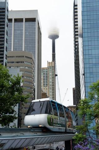 El monorail de Sydney