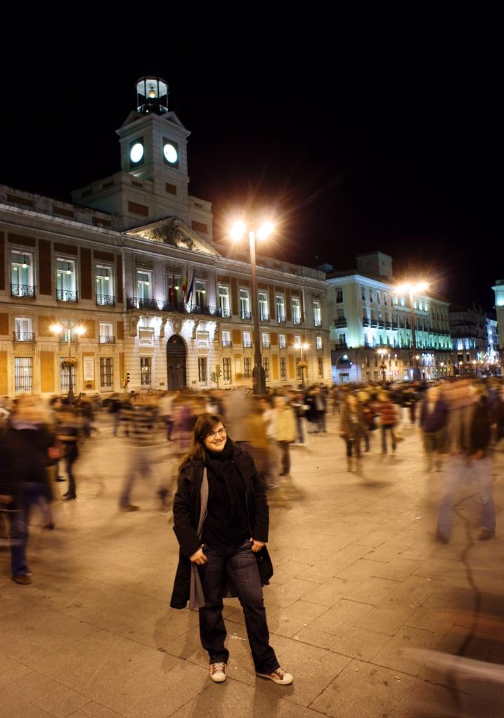 La Puerta del Sol és un formiguer de persones!