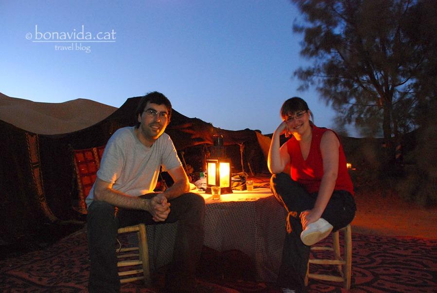 Gaudint de la nit al desert