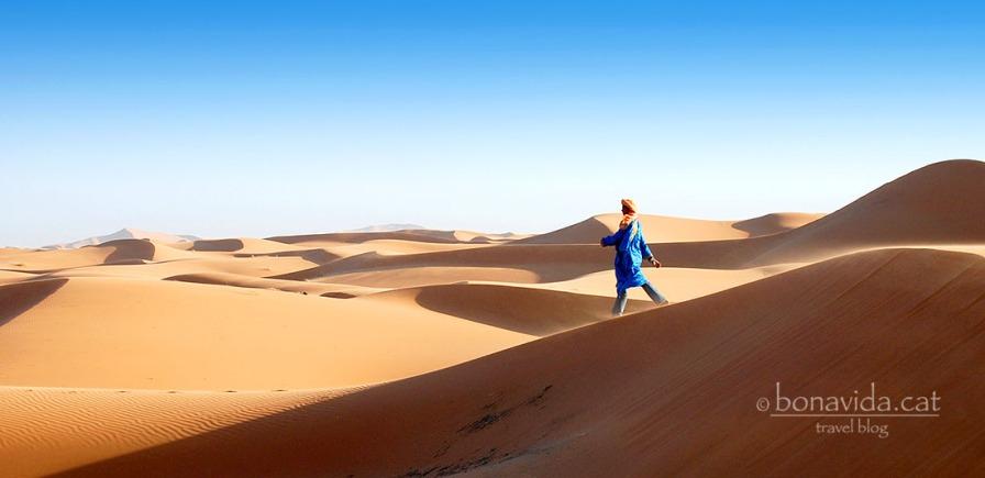 Els berebers es mouen com peix a l'aigua entre les dunes