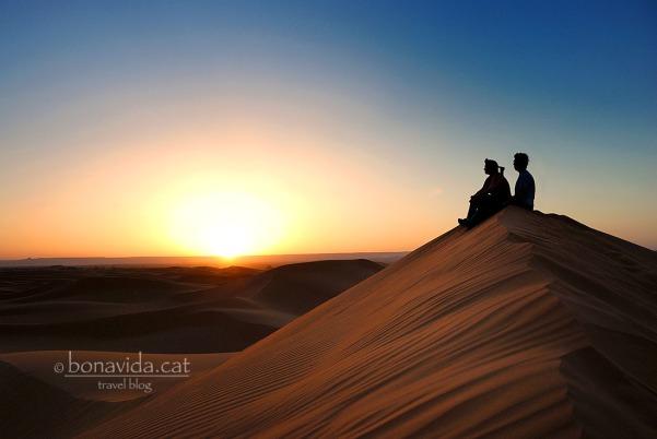 marroc desert dunes sunset nosaltres