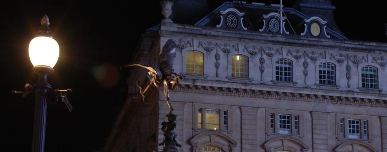 Estàtua d'Eros a Picadilly Circus