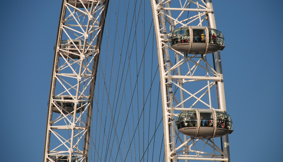 La London Eye és una gran atracció turística
