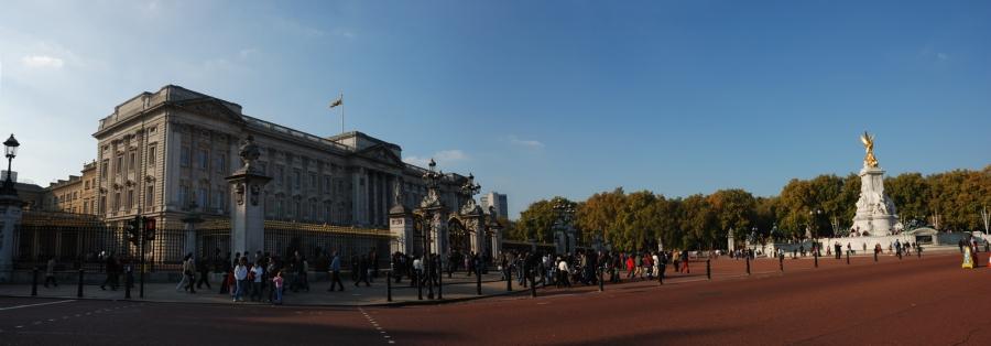 Buckingham Palace, seu de la reialesa britànica.