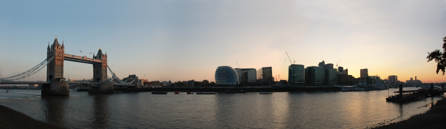 Skyline de Londres.
