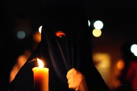 Nazareno a la Setmana Santa de Sevilla