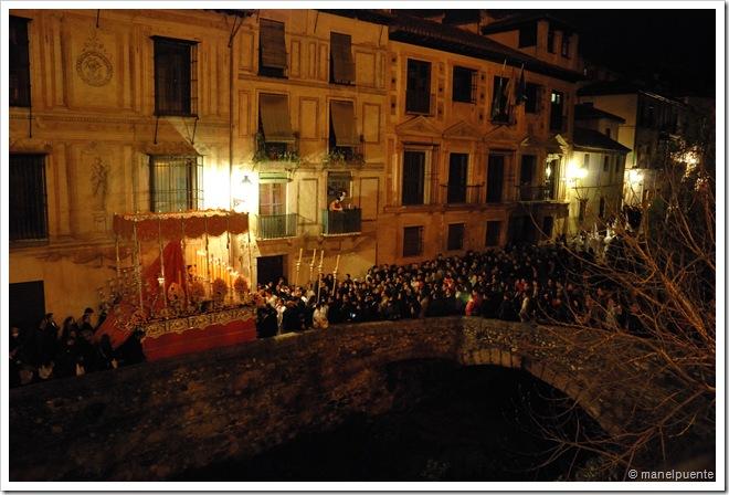 Processó a la Carrera del Darro. Granada