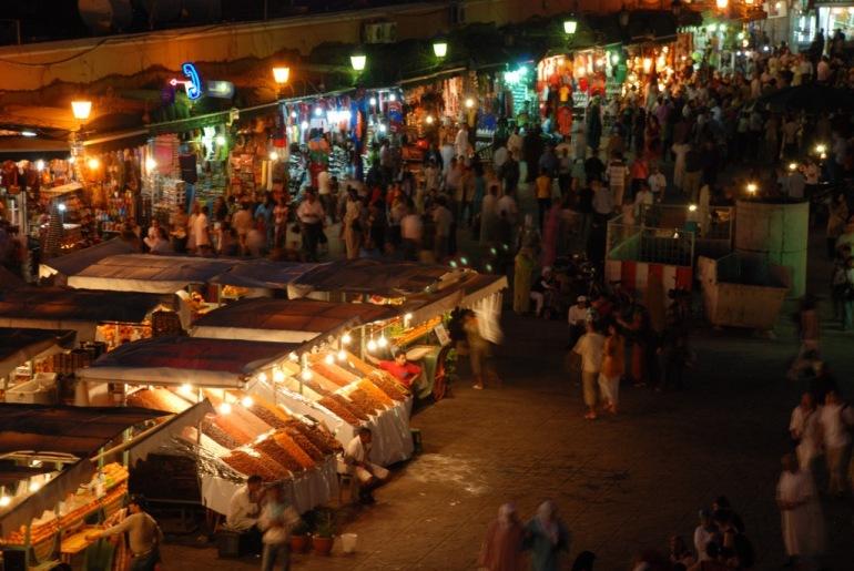 marroc jema el fna colors