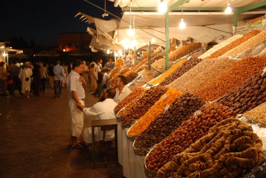 marroc jema el fna datils