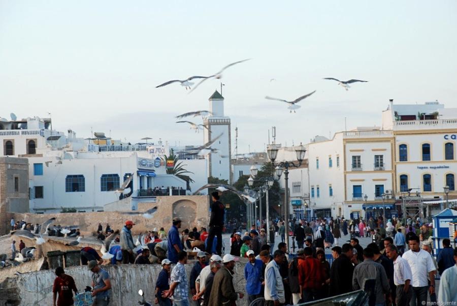 La ciutat costanera d'Essaouira
