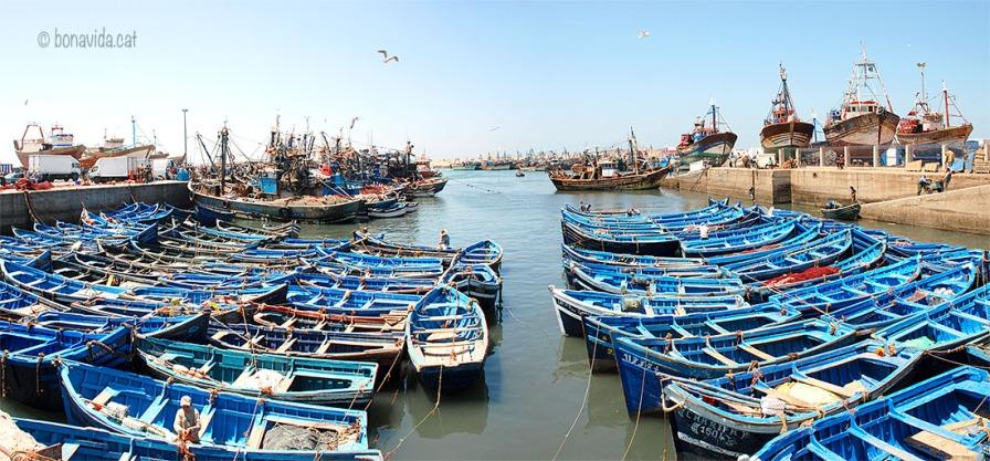 Marroc Essaouira port vaixell