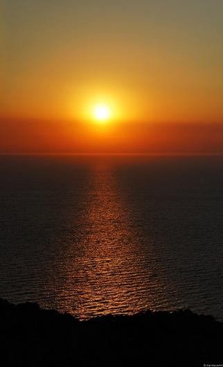 Posta de Sol a Cap Negret.