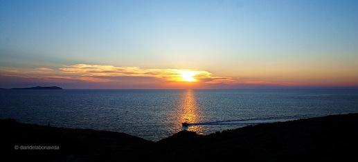 Posta de sol des de Cap Negret