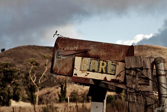"""Bústia d'un """"rancho"""" a Arizona."""