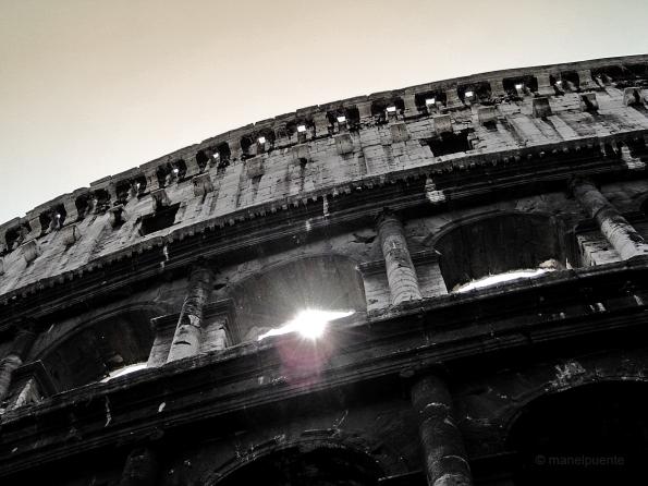 il Colosseo, originàriament conegut com Anfiteatre Flavio, Roma.