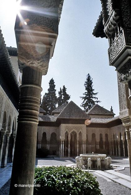 Patio de los Leones. Alhambra de Granada