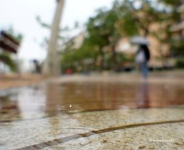 Un dia de pluja a Palamós