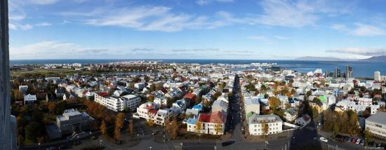 Panoràmica de Reykjavik