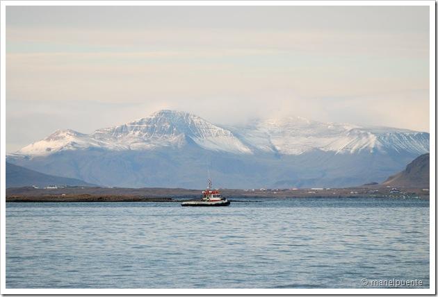 Monte Esja (davant ciutat Reykjavik)