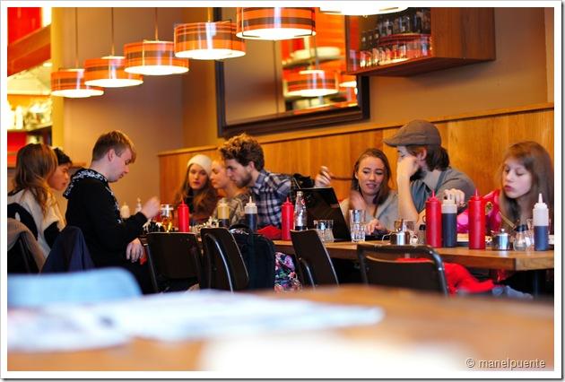Cafeteria de Reykjavik