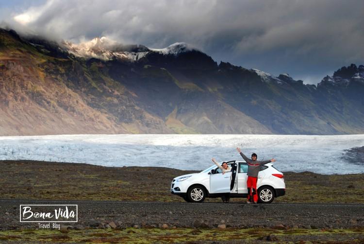 Camp de gel de Vatnajökull. Sud Islàndia.