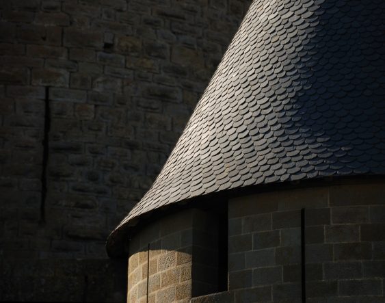 Castell Carcassonne detall 1