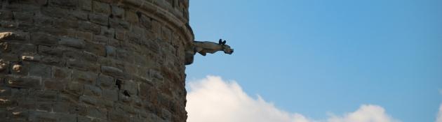Castell Carcassonne detall 2