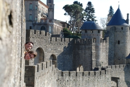 Castell Carcassonne Eli&Jose