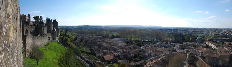 Castell Carcassonne i ciutat