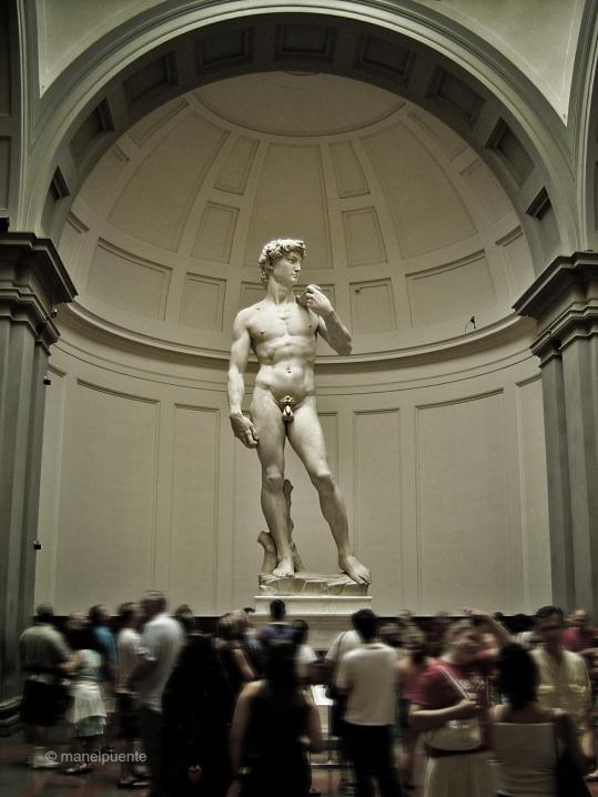 David di Michaelangelo, Florència