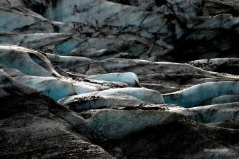 Glacera Svínafellsjökull al Parc Nacional de Vatnajökull