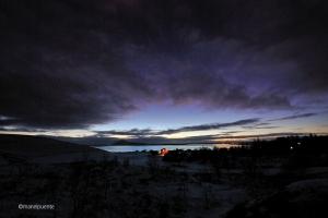 Llac Mývatn a la ciutat de Reykjahlid