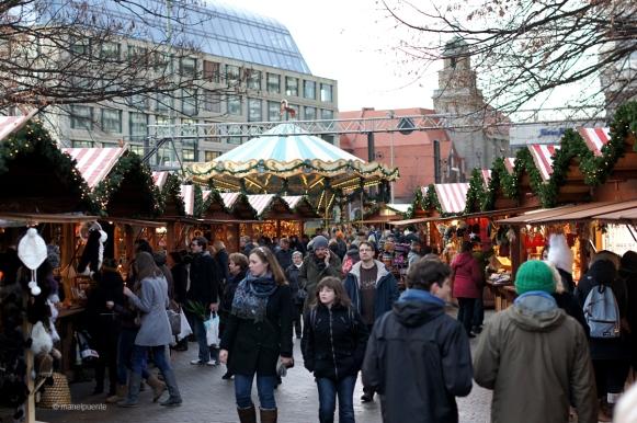 gentada als mercats de nadal