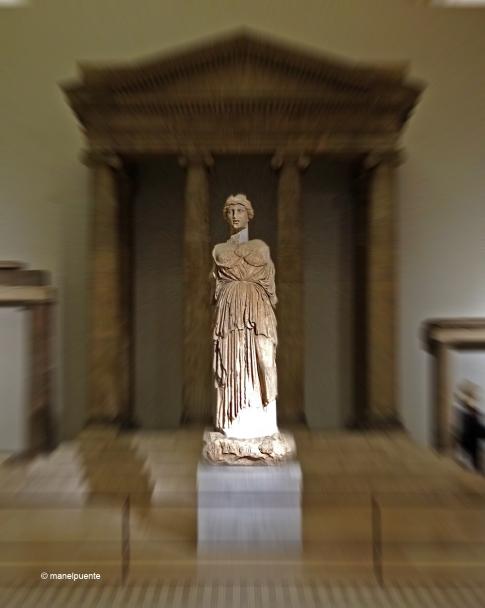 La deessa Athena