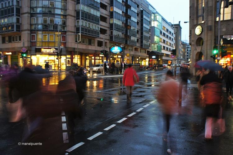 L'avinguda Friedrichstraße és una de les més transitades