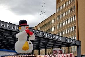 La Potsdamer Platz no es va salvar de la decoració nadalenca
