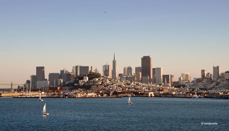 Les vistes de la ciutat de San Francisco des d' Alcatraz són magnífiques