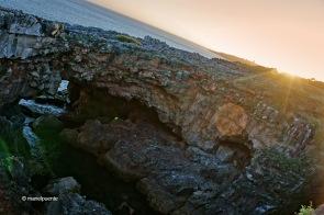 La força del mar es deixa veure a la Boca do Inferno