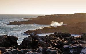 Amb una mica de vent les onades comencen a agafar força