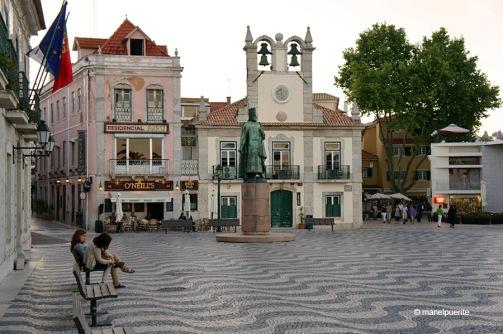 La Praça 5 de outubro a Cascais