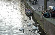 Oudezijds Voorburgwal canal