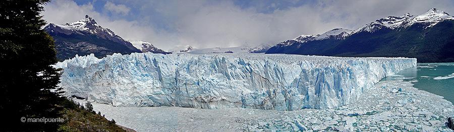 La glacera Perito Moreno. Argentina