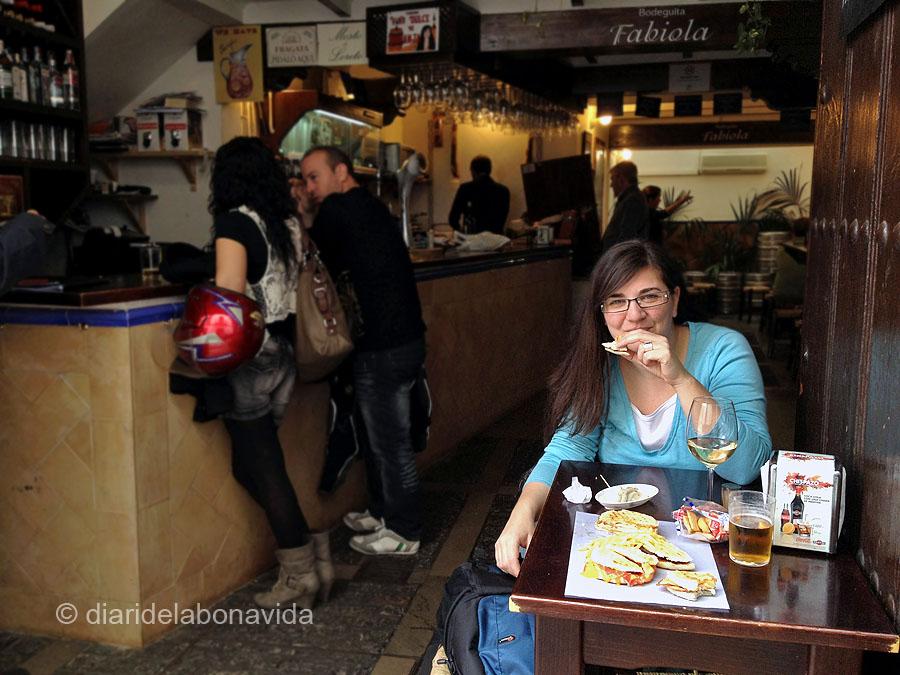 La bodeguita Fabiola és un bon exemple de lloc on menjar