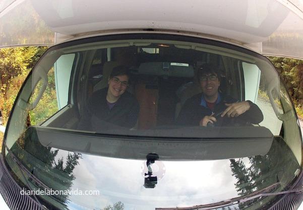 Conduint l'autocaravana