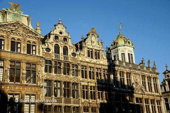 Cases gremials a la Grand Place