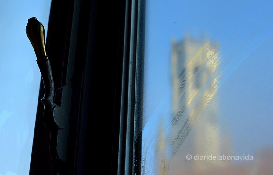 La torre Belfort des de la nostra habitació