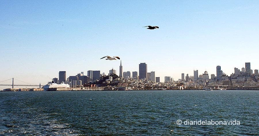 Vista de la ciutat de San Francisco